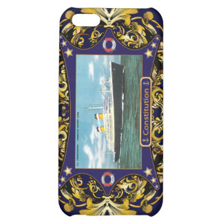 SS Constitution Vintage Ocean Liner Cover For iPhone 5C