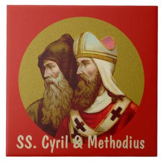 SS. Cyril & Methodius (M 001) Ceramic Tile