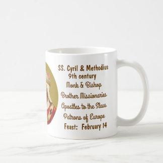 SS. Cyril & Methodius (M 001) Coffee Mug #1b