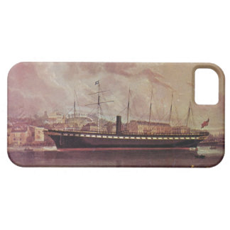 SS Great Britain 1845 at anchor iPhone 5 Case