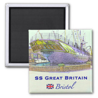 SS Great Britain Magnet