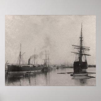SS Livorno Poster