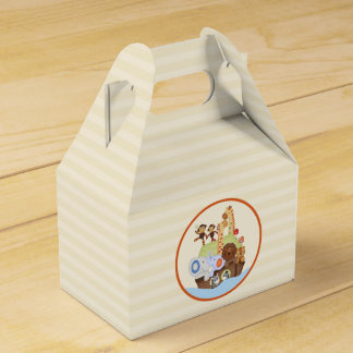 SS Noah / Noah's Ark Baby Shower Personalized Favor Box
