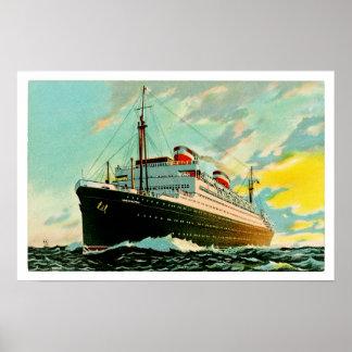 SS Washington Poster