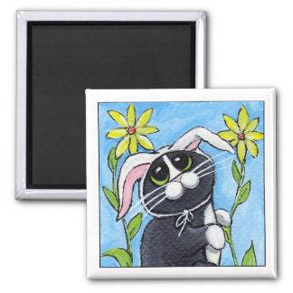 Ssh... I'm Hunting Rabbits! - Cat Magnet