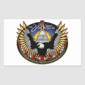 SSN 785 USS John Warner Sticker
