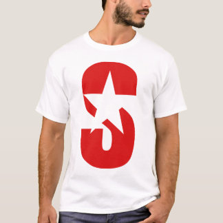SSR Star logo red T-Shirt