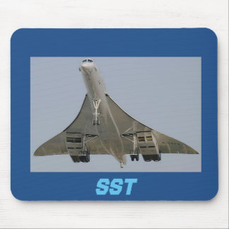 SST SUPERSONIC TRANSPORT MOUSE PAD