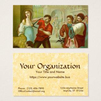 St. Agatha (M 003) FB Standard Business Card