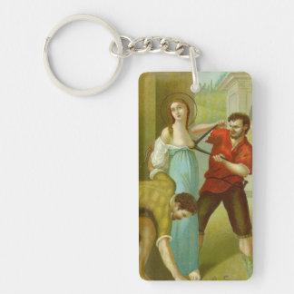 St. Agatha (M 003) Keychain