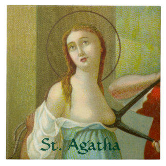 St. Agatha (M 003) Tile