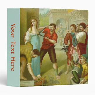 St. Agatha (M 003) Vinyl Binder