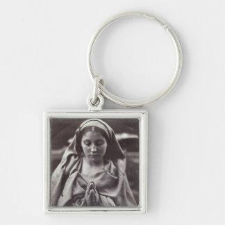 St. Agnes (albumen print) Key Chain