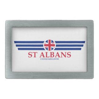 St Albans Rectangular Belt Buckle