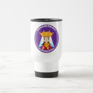 St. Alexandra of Rome Travel Mug