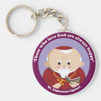 St Alphonsus Liguori Keychains