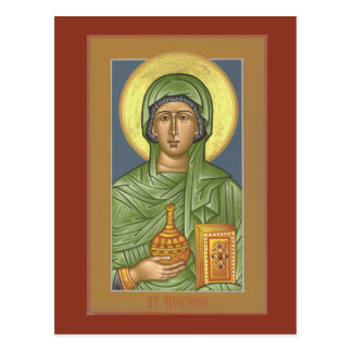 St. Anastasia Prayer Card Postcard