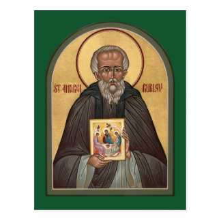 St. Andrei Rublev Prayer Card