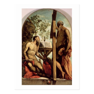 St. Andrew and St. Jerome Postcard