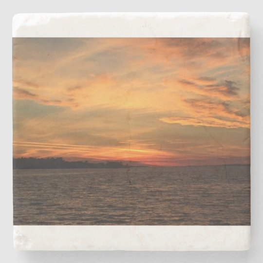 St. Andrew Bay Sunset Coaster Stone Coaster