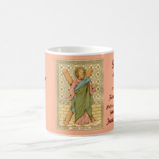St. Andrew the Apostle (RLS 01) Coffee Mug 1