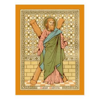 St. Andrew the Apostle (RLS 01) Postcard 2