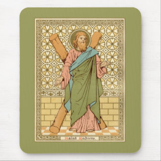 St. Andrew the Apostle (RLS 01) (Style 1) Mouse Pad