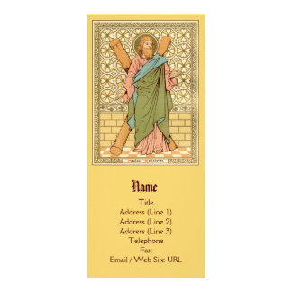 St. Andrew the Apostle (RLS 01) (Style 1) Rack Card