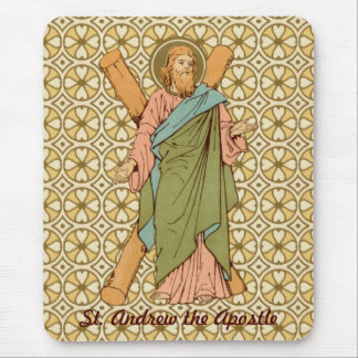 St. Andrew the Apostle (RLS 01) (Style 2) Mouse Pad