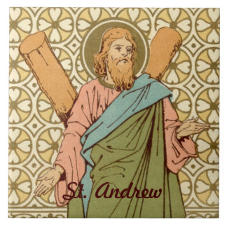 St. Andrew the Apostle (RLS 01) Tile