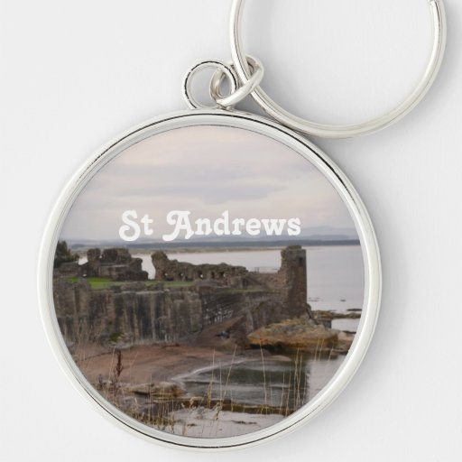 St Andrew's Castle Ruins Key Chain