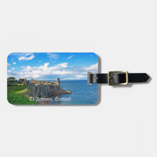 St Andrews Castle, Scotland Luggage Tag