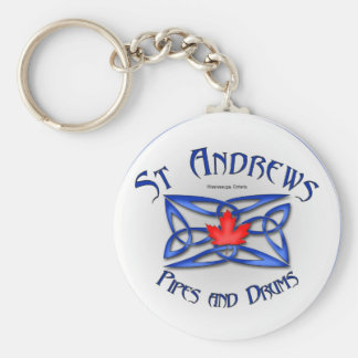 St Andrews Pipes and Drums band keychain