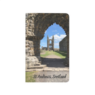 St Andrews Scotland Cathedral Ruins View Arches Journal