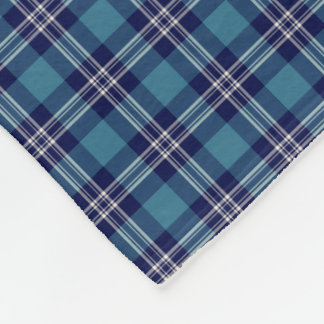 St Andrews Scotland District Tartan Fleece Blanket