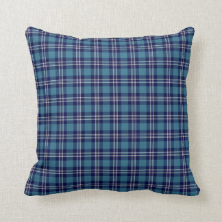 St Andrews Scotland District Tartan Throw Pillow