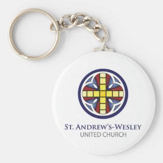 St. Andrew's-Wesley Keychain