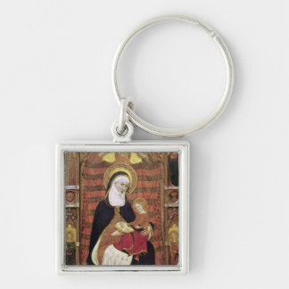 St. Anne and the Virgin Keychain