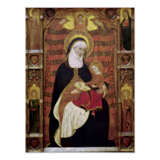 St. Anne and the Virgin Poster