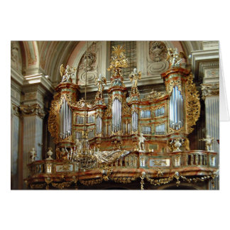 St Anne's, Warsaw, Poland Card