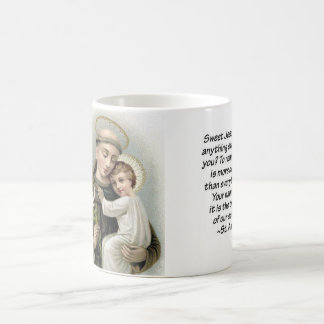 St. Anthony and Baby Jesus Coffee Mug