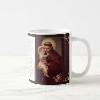 St. Anthony Mug w/prayer