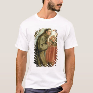 St. Anthony of Padua  adoring the Christ Child T-Shirt