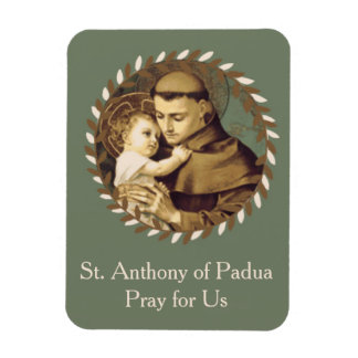 St. Anthony of Padua Baby Jesus Magnet