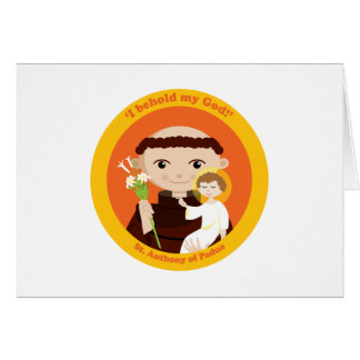 St. Anthony of Padua Card