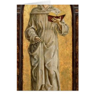 St. Anthony of Padua  Reading Greeting Card