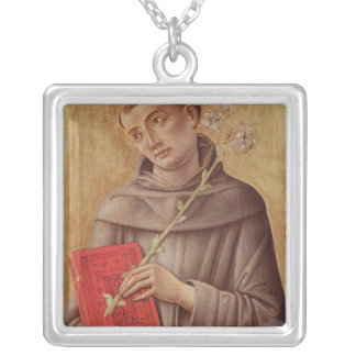 St. Anthony of Padua Silver Plated Necklace