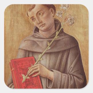 St. Anthony of Padua Square Sticker