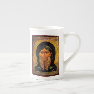 St. Anthony the Great Icon & Quote Tea Cup
