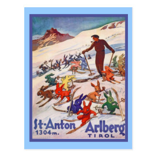 St ANton, Arlberg; Tirol Postcard